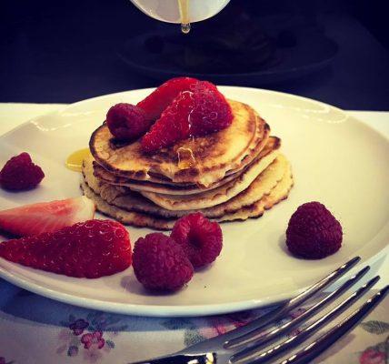 bez mleka pancakes