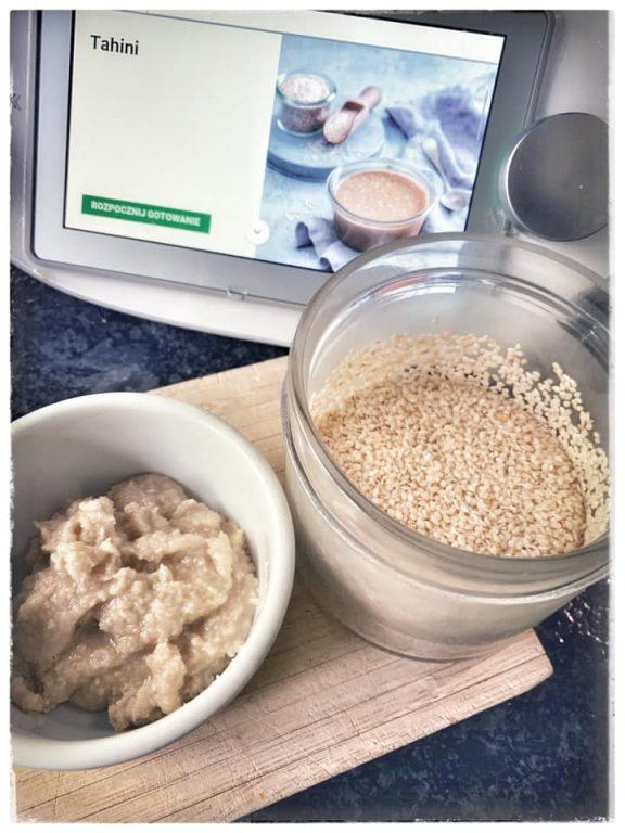TAHINI – pasta sezamowa